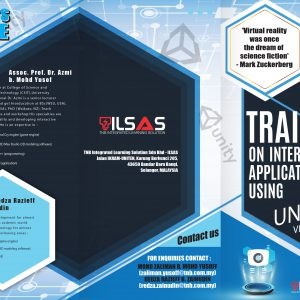 Training on Interactive Application (using unity 3D virtual reality)