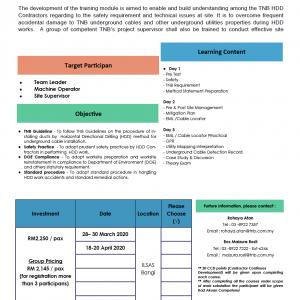 Ensuring Safe & Effective Horizontal Directional Drilling (HDD) Work Management