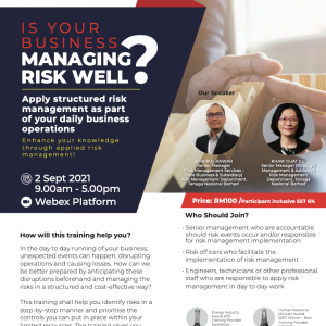 WEBINAR: IS YOUR BUSINESS MANAGING RISK WELL?