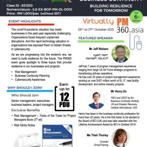 Project Management 360 Virtually The 6th Edition: Managing Risk & Business Continuity : Building Resilience For Tomorrow